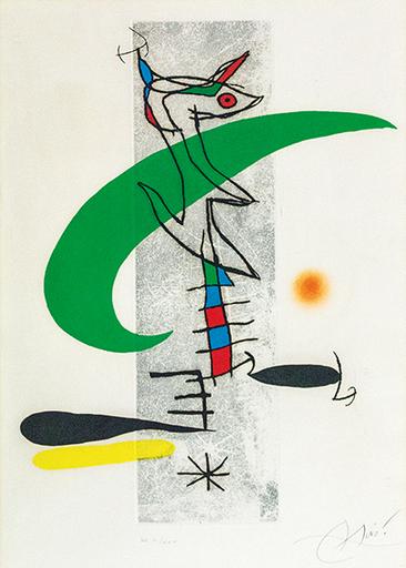 Joan MIRO - Druckgrafik-Multiple - LA TRANSLUNATIRE