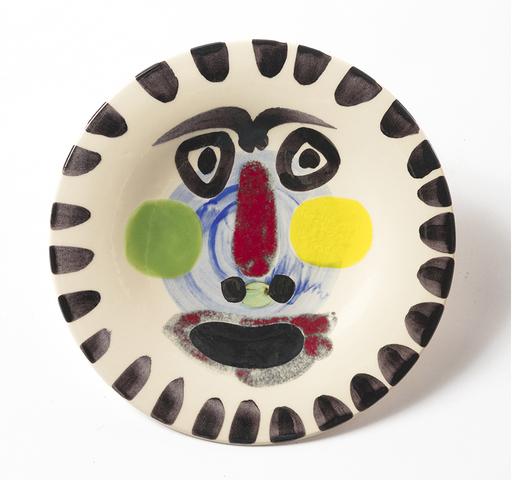 巴勃罗•毕加索 - 陶瓷  - Visage No 202