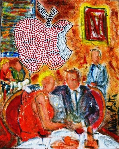 Valerio BETTA - Peinture - Anniversario a New York