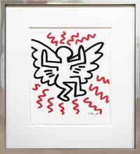 凯特•哈林 - 版画 - Angel