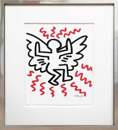 Keith HARING - Estampe-Multiple - Angel