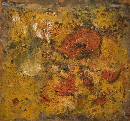 """Miquel BARCELO - Painting - """"Potiron avec Bouquet de Fleurs nº 1"""""""