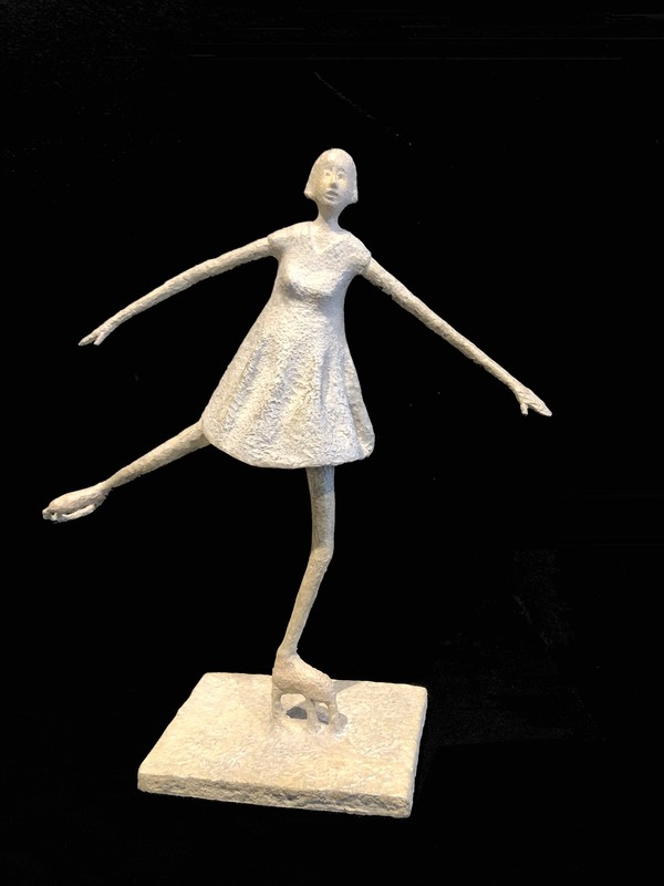 Lucette BRANDY - Sculpture-Volume - La patineuse