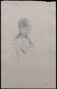 Henri DE TOULOUSE-LAUTREC, Portrait d'Albert Grenier