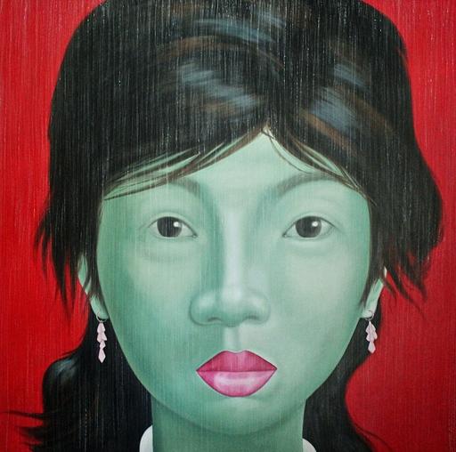 Jo CHANCHAI - Peinture - Eastern Beauties III