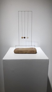 Lukas ULMI - Sculpture-Volume - Harpa de tres piedras