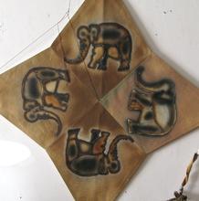 Francisco TOLEDO - Peinture - Four Elephant star kite