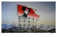 Jeff GILLETTE - Estampe-Multiple - Banksy Minnie Nagasaki