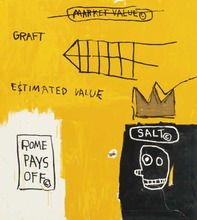 Jean-Michel BASQUIAT - Stampa Multiplo - Rome pays off