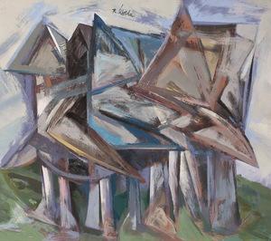 Rafael UBEDA PIÑEIRO - Pintura - aldea