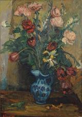 Arbit BLATAS - Pintura - Floral Still Life