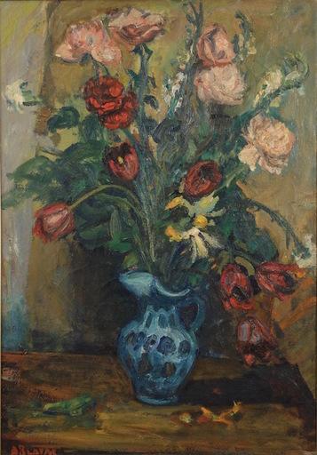 Arbit BLATAS - Painting - Floral Still Life