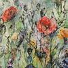 Nathalie GRANGE - Pintura - MYSTERIEUSE I