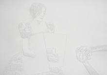 Amparo SARD - Drawing-Watercolor - o.T. (L-G-32)