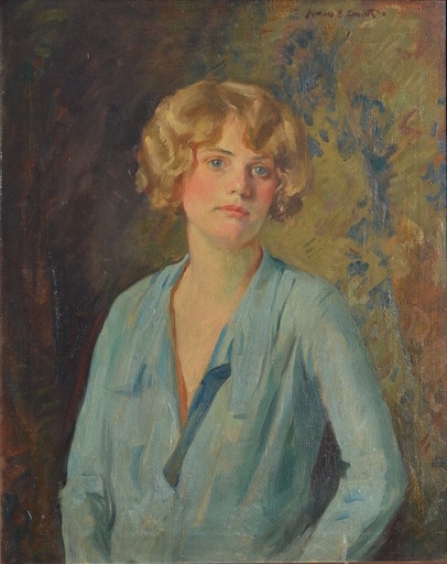 Howard Everett SMITH - Pittura - Female portrait