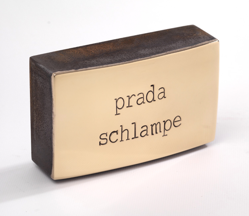 Jan M. PETERSEN - Sculpture-Volume - prada schlampe