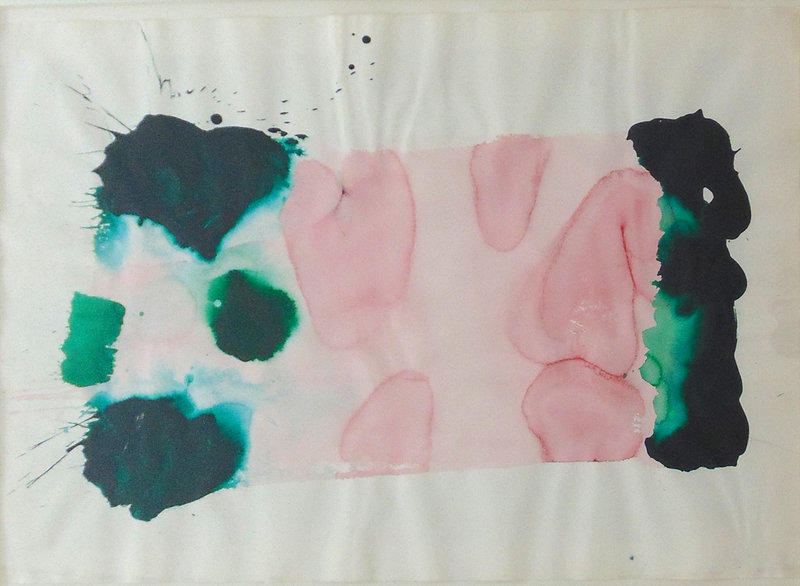 Sam FRANCIS - Drawing-Watercolor - Untitled SF78-255 (Acrylic)