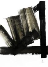 Jean-Jacques MARIE - Dibujo Acuarela - Composition n°737