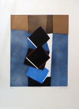 Bertrand DORNY - Grafik Multiple - Le Coin de la rue