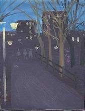 Alex KATZ - Pintura - Washington Square Park