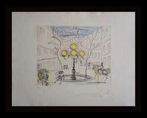 萨尔瓦多·达利 - 版画 - Place Furstenberg