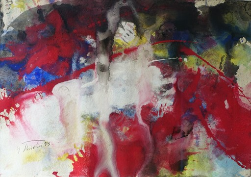 Fred THIELER - Peinture - Ohne Titel