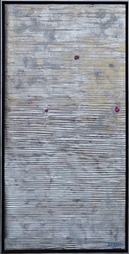 Giulio TURCATO - Painting - Crateri lunari