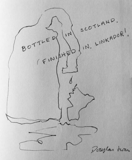 Douglas SWAN - 水彩作品 - Bottled in Scotland