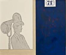 Renato MAMBOR - Painting - Espositore asciugacapelli