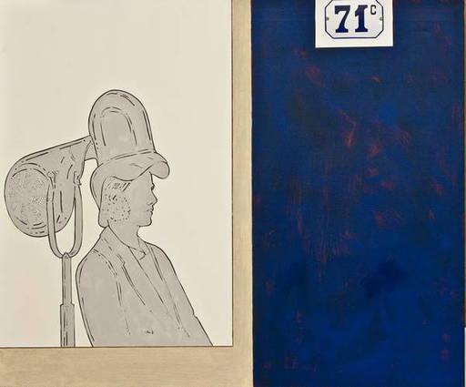Renato MAMBOR - Peinture - Espositore asciugacapelli