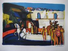 Georges BRIATA (1933) - LITHOGRAPHIE SIGNÉE AU CRAYON HANDSIGNED LITHOGRAPH