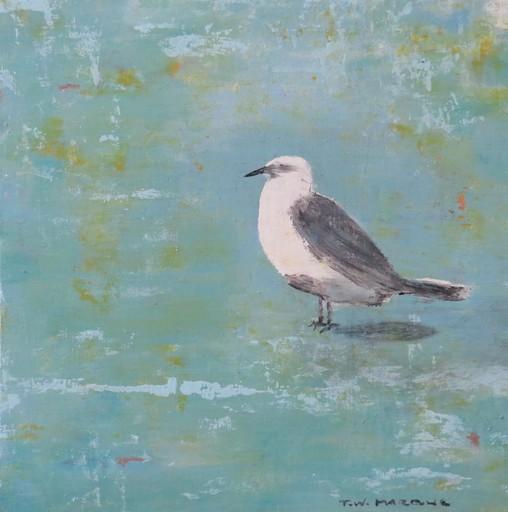 Tung-Wen MARGUE - Painting - Le chant des oiseaux (2)