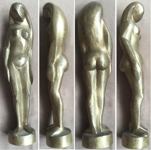 Ferdinand PARPAN - Sculpture-Volume - Contemplation