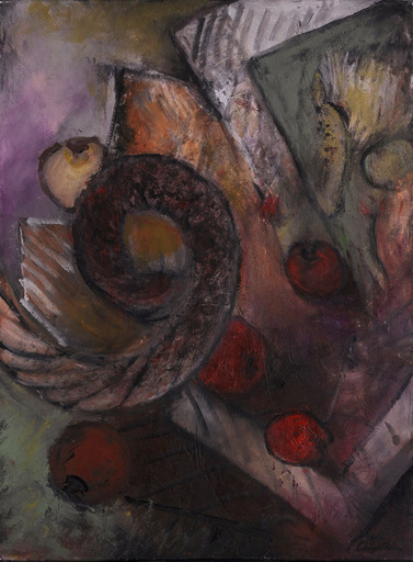 Réjane DE TASSIGNY - Painting - La pardonnée