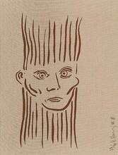 Keith HARING - Estampe-Multiple - Portrait of Joseph Beuys