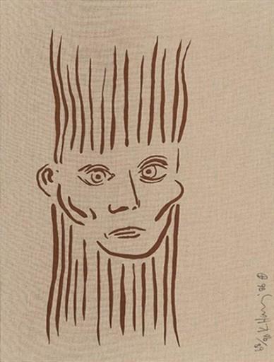 Keith HARING - Print-Multiple - Portrait of Joseph Beuys