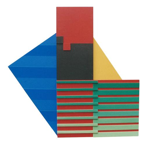 Lorenzo PIEMONTI - Sculpture-Volume - Cromoplastico Madì