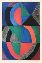 Sonia DELAUNAY-TERK - Estampe-Multiple - Composition Unesco