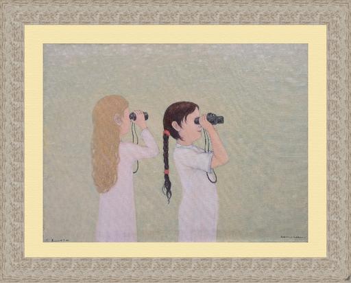 Roman ANTONOV - 绘画 - Girls with Field-Glasses