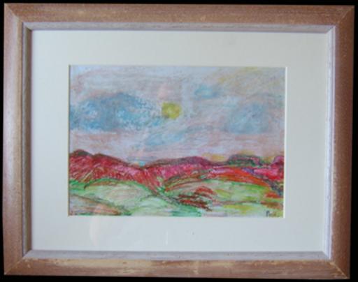 Jean PESKÉ - Dibujo Acuarela - Paysage
