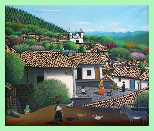 José Antonio VELASQUEZ - Painting - san antonio del oriente