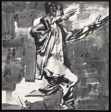 WANG Jinsong - Dessin-Aquarelle - Figure n.119
