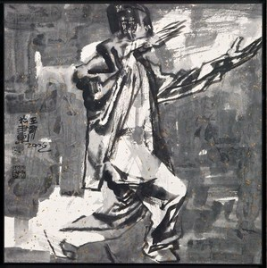 WANG Jinsong - Drawing-Watercolor - Figure n.119
