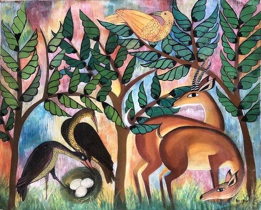 Pilipili MULONGOY - Painting - untitled