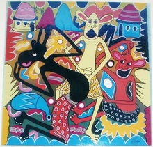 George LILANGA - Painting - Party