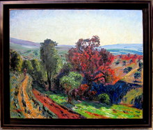 René SEYSSAUD - Pintura - Automne en Provence