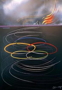 Jaime GENOVART - Pintura - Dança per un somni