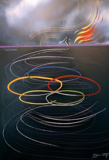 Jaime GENOVART - Gemälde - Dança per un somni
