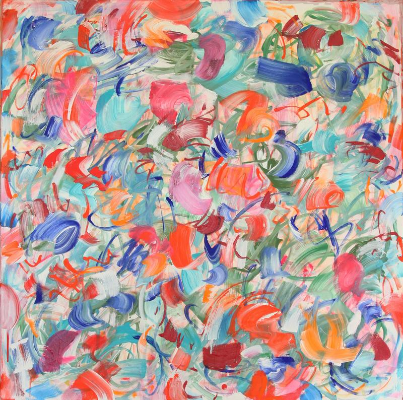 Claudie LAKS - Painting - Sarabande