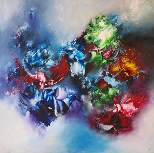 Estelle BARBET - Peinture - Déchaînement